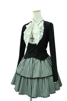 "Sheglit ""Noble Classical Cardigan(black)"""
