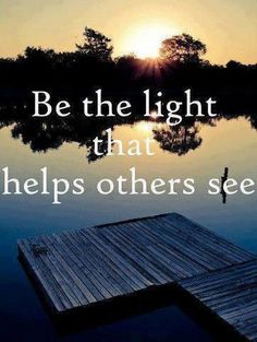 I try in my own way to achieve this. Spreading kindness and a few healing words, trying to leave others feeling more at peace. It is a work in progress. Always learning.