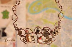 Lost with Alice (Necklace) de Explorium sur DaWanda.com