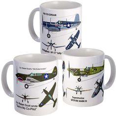 Fab.com | WWII All-Stars Mugs 3 Pack.  http://www.facebook.com/GameRoomWorld?ref=ts