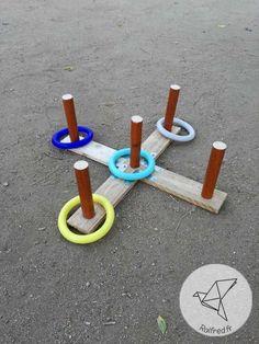 Réalisez un jeu d'anneaux en bois de palette DIY
