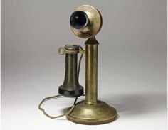 Vintage Brass Candlestick Telephone by Western Electric - Dated 1915 on Etsy, $195.00