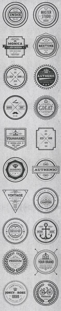 Vintage Style Badges and Logos Template Vector EPS, AI Illustrator. Download here: https://graphicriver.net/item/vintage-style-badges-and-logos-vol-2/17474338?ref=ksioks