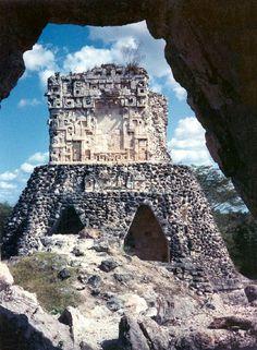 Templo Maya, Yucatan México - Mayan Ruins, Yucatan México