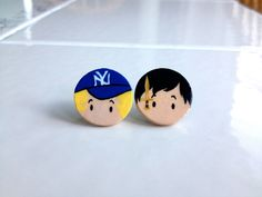 Percy Jackson and Annabeth Chase  Earrings by jewelsoffandom, $11.00