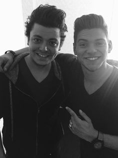 Kev Adams and Rayane Bensetti