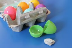 simplified Resurrection eggs for toddlers