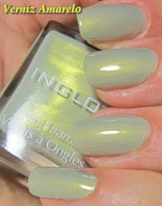 Inglot 981. Wow! This color is just.. Wow.