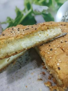 Greek Cooking, Greek Recipes, Sandwiches, Food And Drink, Bread, Cheese, Recipes, Kitchens, Brot
