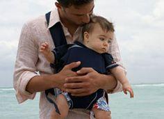 Real men wear their babies.