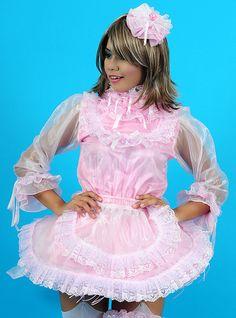 Gillian Sissy French Maid Uniform