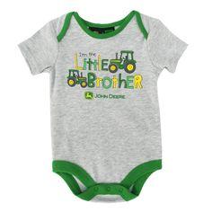 John Deere Infant Boy Little Brother Layette #VonMaur