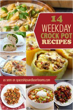 Easy Weeknight Crockpot meals