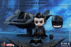 Hot Toys - COSB275 - Batman v Superman Dawn: of Justice - Batman and Batwing Cosbaby (S) Collectible Set
