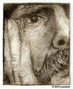 Etching done by Lestaret. Linocut Prints, Art Prints, Block Prints, Art Sketches, Art Drawings, Drypoint Etching, Etching Prints, Encaustic Painting, Chalk Pastels