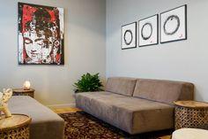 The Zen room where mediation happens at Norbella - Boston Headquarters