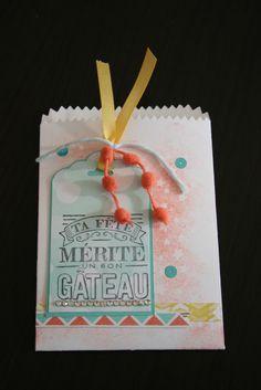 Sophiebio - It's So Scrap Mini sac à sucrerie + papier Motifs magiques Stampin'Up!