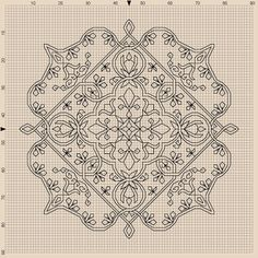 Free Blackwork pattern: Byrd's Nest: For Peace, For Hope, For You