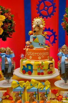 Meu Dia D Mãe - Maternagem Recife - Tema Brincadeira de Menino - Decoração Comemore Design de Eventos (11)