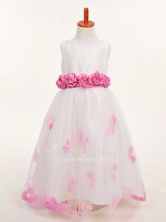 Cheap dress open, Buy Quality gown evening dress directly from China gown bridesmaid Suppliers:  NEW White Princess Organza Flower Girl Dress/TUTU Kids Ball Gown for Party Evening Festivals, Size 2 4 6 8 10