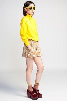 Minkpink Persian Prince Shorts $74 #minkpink #shorts #highwaist #mini #summer