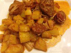 Sauté de porc à la portugaise (2)