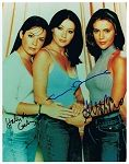 Charmed Authentic Cast Signed 8x10 Autograph Photo - Holly Marie Combs, Alyssa Milano, Shannen Doherty