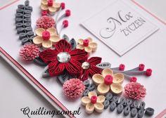 Moc życzeń - quilling, greeting card, handmade card