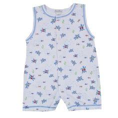 e0170aee403 Kissy Kissy - Turtle Tides Print Sleeveless Short Playsuit  playsuit   infant  style