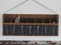 silverware organizer- nice- across from butler's pantry or in dining room??? for extras and company