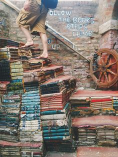The Most Beautiful Bookstore in Venice, Italy