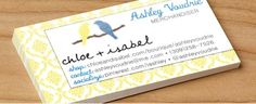 Just ordered my Chloe + Isabel business cards! Contact me about hosting a pop-up shop to receive FREE C+I jewelry. #chloeandisabel