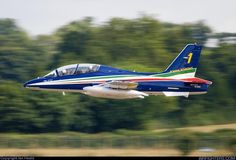 FrecceTricolori Aerobatic Team - Aermacchi MB-339PAN - Italy Air Force