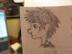 Hiccup/church doodles by Maggie Rice