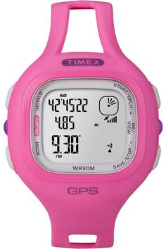Timex Women's Quartz Watch Timex Marathon T5K698 with Rubber Strap -- Click on the watch for additional details.