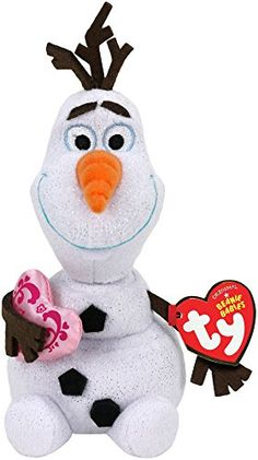 Ty Disney Frozen Olaf - Snowman with Heart Ty http   www.amazon 36366f759d85