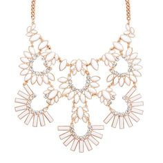 Between its milky, spring-perfect faux stones and its statement-making design, it doesn't get more of-the-moment than this necklace! Regularly $38.00, buy Avon Jewelry online at http://eseagren.avonrepresentative.com