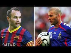Zidane and Iniesta | Beauty od Football | Best Dribbling Skills HD