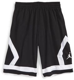 Boy's Jordan 'Flight Diamond' Knit Basketball Shorts