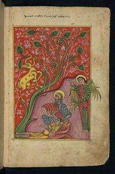Gospels, Sacrifice of Isaac, Walters Manuscript W.543, fol. 4r