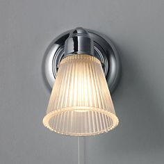 Buy John Lewis Lucca Single Bathroom Spotlight Online at johnlewis.com For above mirrors.... Two maybe?