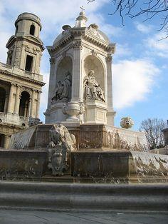 L'Église Saint-Sulpice, Quartier Latin, Paris