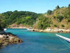 Lagoa Azul  -  Ilha Grande  -  Angra dos Reis   -  Rio de Janeiro  -  Brasil