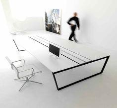 ARKO Desk by IVM & QUADRA chair by TCC