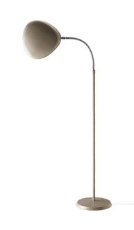 "Greta Grossman's ""Cobra"" floor lamp made by Gubi."