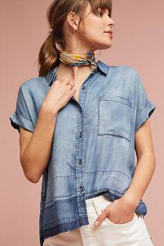 44 mejores imágenes de Denim Shirts | Ropa, Moda, Camisas