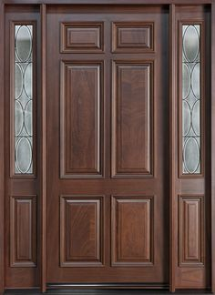 wooden front doors canada - Google Search