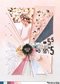 Moodboard Girls November - Scrap Sweet Scrap #scrapbookideas