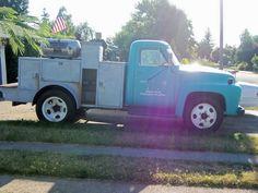 Old Ford Welding Trucks | Pipeline Welding Trucks