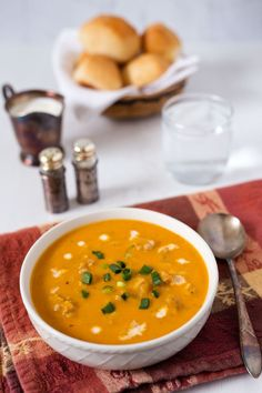 Smooth creamy and delicious! The black and red pepper give this Pressure Cooker Butternut Squash Soup a little bit of heat and the half and half gives it great body and beautiful color. Pressure Cooker Soup Recipes, Best Pressure Cooker, Instant Pot Pressure Cooker, Slow Cooker, Pressure Cooking Today, Best Instant Pot Recipe, Chowder Recipes, Butternut Squash Soup, Homemade Soup